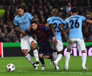 Man City Barca